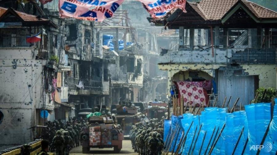 Philippines chiếm căn cứ chỉ huy phiến quân tại Marawi - Ảnh 1.
