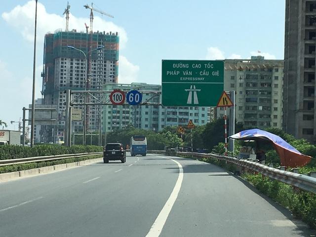 Tuyến đường Pháp Vân - Cầu Giẽ đang được đầu tư giai đoạn 2 để nâng cấp, mở rộng