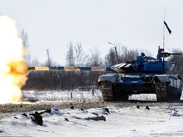 Xe tăng T-72B3 của Nga