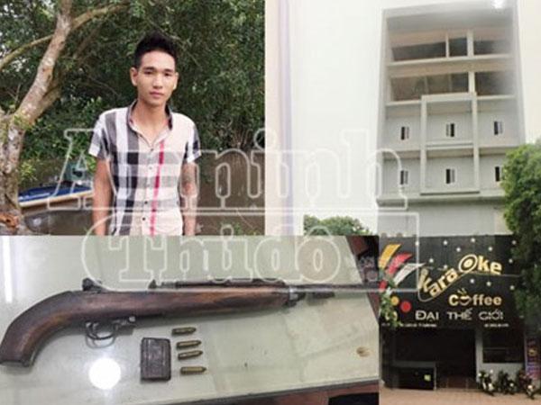Cảnh sát hình sự bắt giữ hung thủ bắn chết người tại quán karaoke Đại Thế Giới