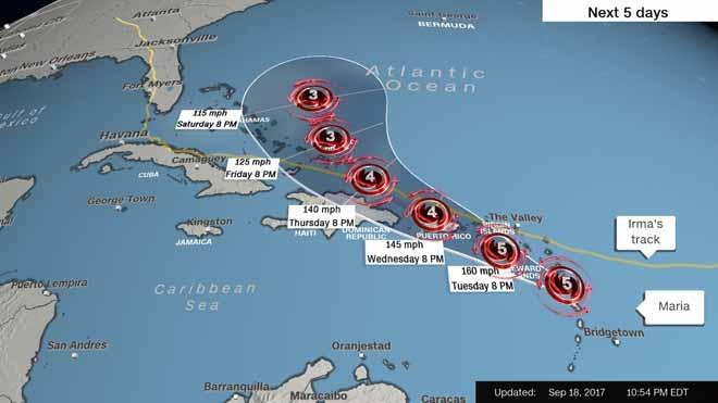 """Bão Maria thành """"quái vật"""", phá tan nhà Thủ tướng Dominica - 2"""