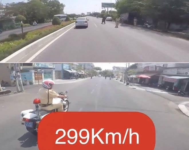 "biker tung clip ""299km/h"" chinh thuc nhan cai ket ""dang"" hinh anh 1"