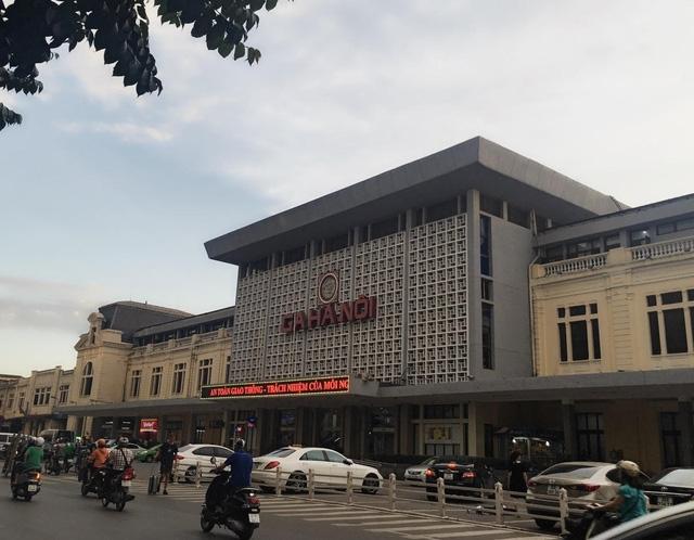 Khu vực ga Hà Nội hiện tại