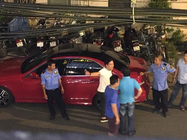 chiec xe hoi trong clip dau khau cua truong giang da tung bi va cham nam 2016 - 4