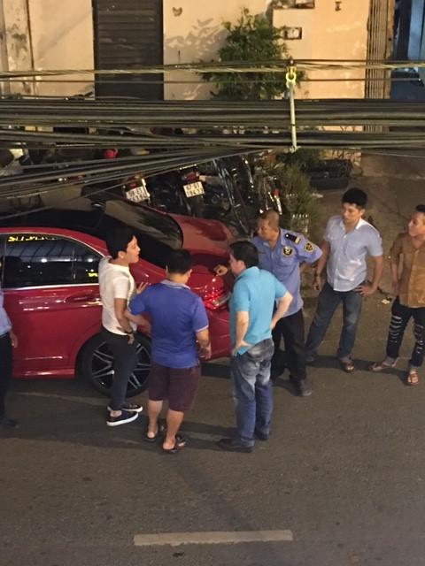 chiec xe hoi trong clip dau khau cua truong giang da tung bi va cham nam 2016 - 5