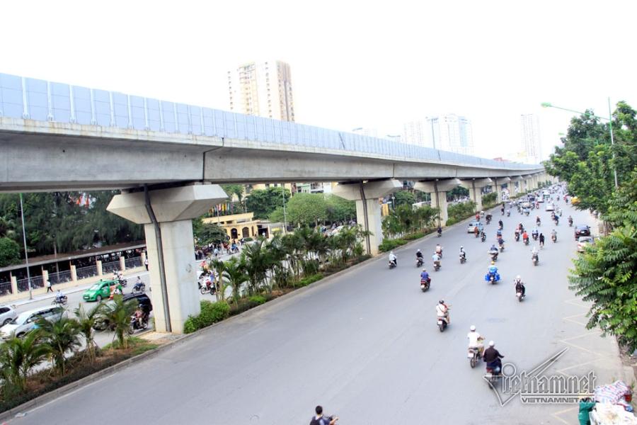 đường sắt trên cao, đường sắt trên cao Cát Linh - Hà Đông, đường sắt Cát Linh - Hà Đông, Cát Linh - Hà Đông