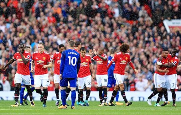 MU, Lukaku, Rooney, Everton, Mourinho