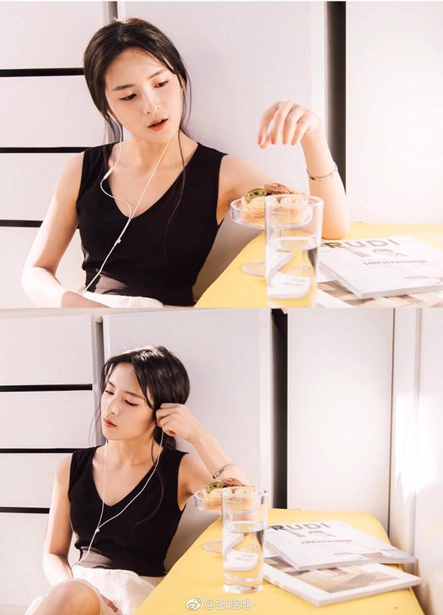 Năm 2017 Trương Hiểu Duy tiếp tục tham gia diễn xuất với vai Mạc Hân Vy trong phim Thiếu gia ác ma đừng hôn tôi.