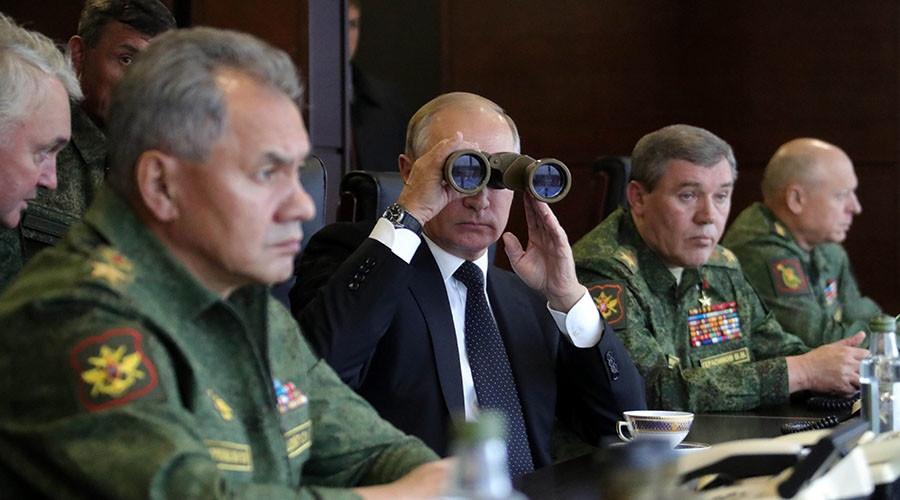 Putin, Zapad 2017, Nga, tập trận