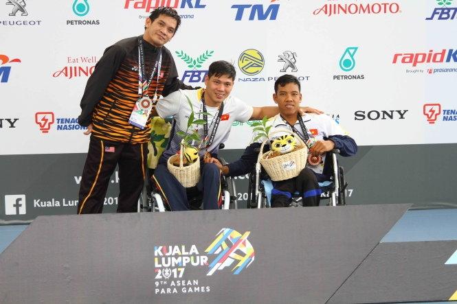 Võ Thanh Tùng phá kỷ lục ASEAN Para Games