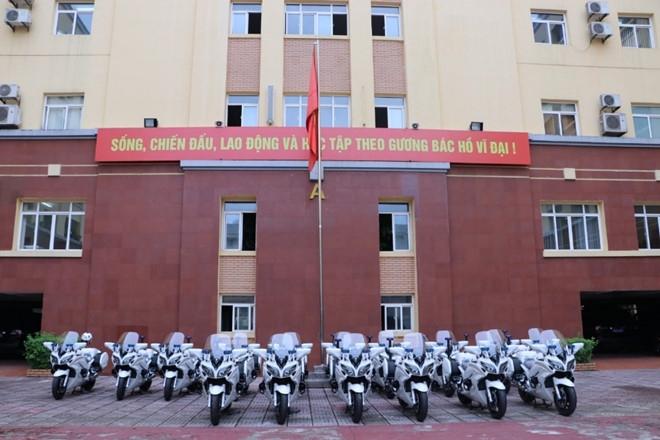 Bo Cong an trang bi them 35 moto 1.300 phan khoi hinh anh 1