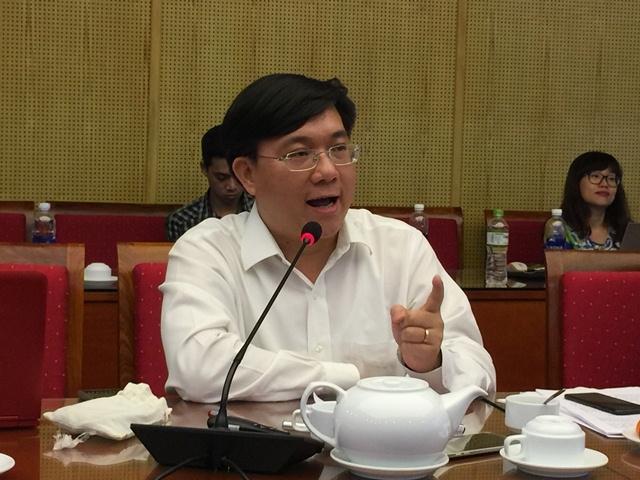Ông Trần Duy Đông, Vụ trưởng Vụ Quản lý các khu kinh tế (ảnh Nguyễn Tuyền)