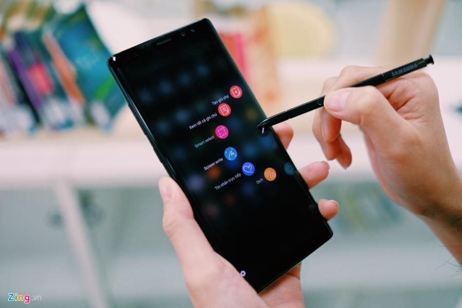 Mo hop Galaxy Note 8 sap len ke o Viet Nam hinh anh 15