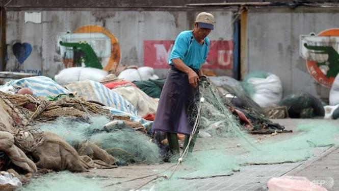 Theo một số thống kê, khoảng 600,000 người nước ngoài đang được thuê làm lao động phổ thông ở Đài Loan /// AFP