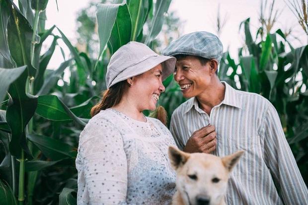 Thương bố mẹ cả đời làm ruộng, cậu con trai 22 tuổi đã tặng cả hai bộ ảnh giản dị nhưng đầy tình yêu thương - Ảnh 3.