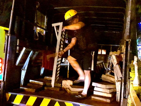 Người đàn ông chạy nhiều km tìm ông Hải đòi thang sắt bị tịch thu oan