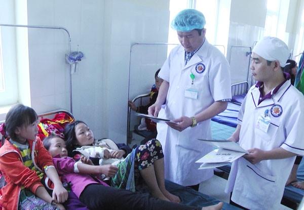 73 hoc sinh o Lao Cai nghi ngo doc thuc pham hinh anh 1