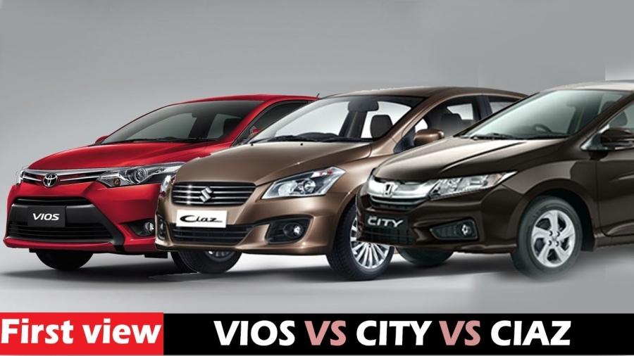 Suzuki Ciaz, Honda City, Toyota Vios, ô tô, xe hơi, sedan hạng b, ô tô giảm giá, ô tô nhập khẩu,