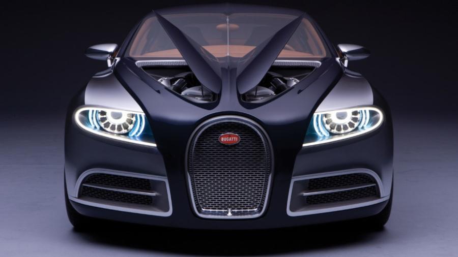 Sieu xe Bugatti moi se co 4 cua, su dung dong co khi nen hinh anh 5