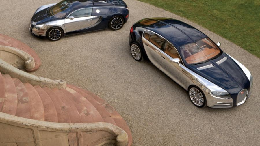 Sieu xe Bugatti moi se co 4 cua, su dung dong co khi nen hinh anh 6