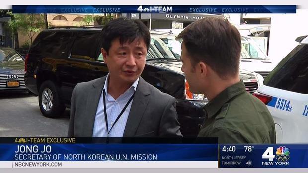 Ông Jong Jo, thư ký phái đoàn ngoại giao Triều Tiên tại LHQ (Ảnh: NBC News)