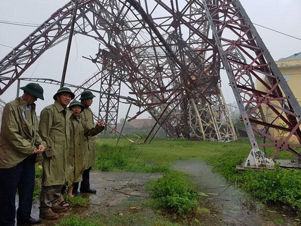 Chính phủ hỗ trợ Hà Tĩnh 40 tỷ đồng dựng lại hai cột phát sóng