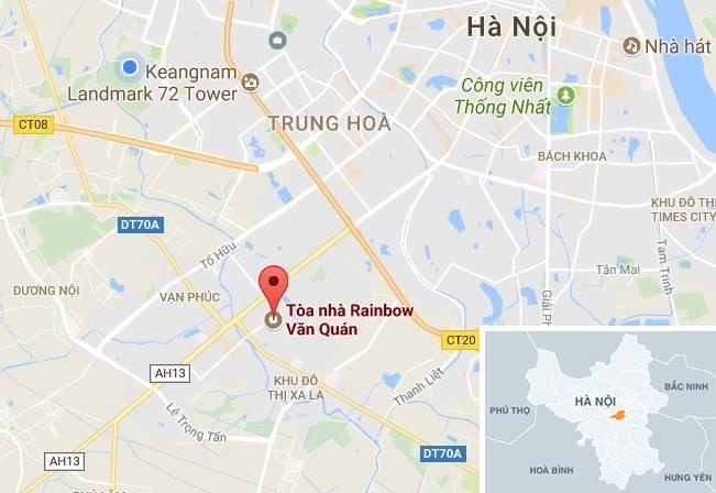 Chay tai can ho o chung cu 27 tang Rainbow Ha Dong hinh anh 2