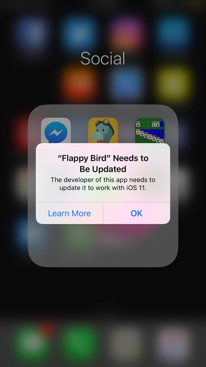 iOS 11 chinh thuc ngung ho tro Flappy Bird hinh anh 2