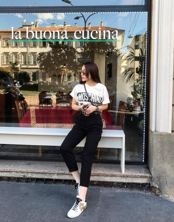 Khoe ảnh street style ở Milan, Kỳ Duyên lại khiến fan trầm trồ với chiếc đồng hồ tiền tỉ - Ảnh 3.