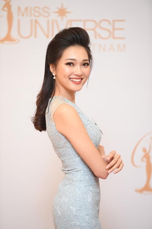 Nhan sắc đời thường của 10 cô gái đầu tiên lọt vào Bán kết Hoa hậu Hoàn vũ Việt Nam 2017 như thế nào? - Ảnh 4.