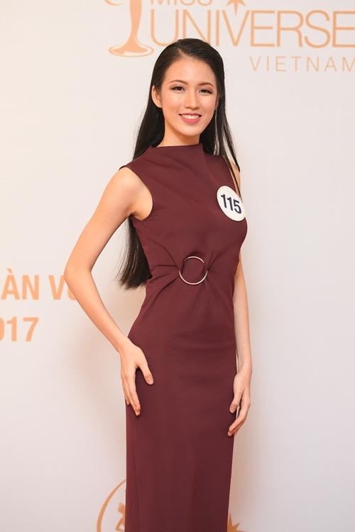 Nhan sắc đời thường của 10 cô gái đầu tiên lọt vào Bán kết Hoa hậu Hoàn vũ Việt Nam 2017 như thế nào? - Ảnh 24.