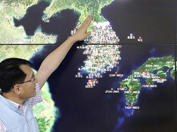 Phát hiện động đất ở khu vực Triều Tiên thử hạt nhân lần 6