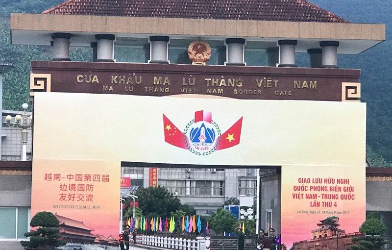 giao lưu quốc phòng biên giới, Việt - Trung, Bộ trưởng Quốc phòng, Ngô Xuân Lịch, Thứ trưởng Quốc phòng, Nguyễn Chí Vịnh