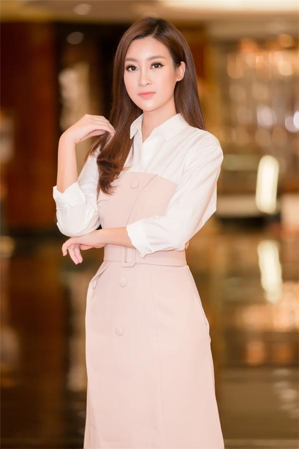 Bị chê nhạt nhưng Mỹ Linh lại là người đẹp nổi bật nhất của Việt Nam tại đấu trường nhan sắc quốc tế - Ảnh 3.