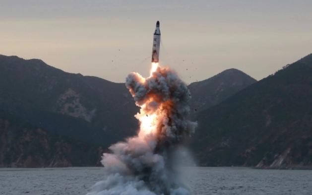 Một vụ thử tên lửa của Triều Tiên (Ảnh: KCNA)