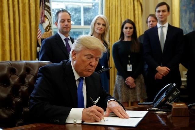 Ong Trump xem xet ra sac lenh nhap cu moi hinh anh 1