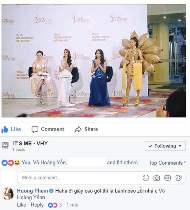 Rộ tin đồn Phạm Hương chảnh chọe, ép loại Mai Ngô, khiến Võ Hoàng Yến bất lực tại Hoa hậu Hoàn vũ VN - Ảnh 7.