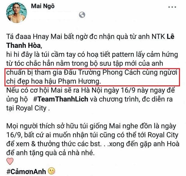 Rộ tin đồn Phạm Hương chảnh chọe, ép loại Mai Ngô, khiến Võ Hoàng Yến bất lực tại Hoa hậu Hoàn vũ VN - Ảnh 8.
