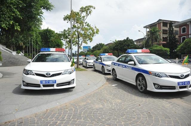 Xe đặc chủng dẫn đoàn được đưa vào phục vụ tại Hội nghị APEC tại Huế