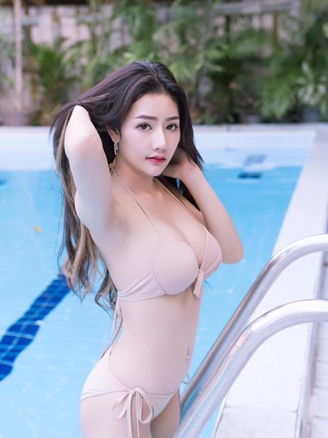 "ngam gan ""nu than sexy"" moi noi khien dan ong thai lan dien dao hinh anh 5"