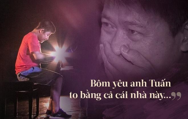 Rơi lệ vì câu nói của Bôm, con trai Quốc Tuấn: Bôm yêu anh Tuấn to bằng cả cái nhà này... - Ảnh 2.