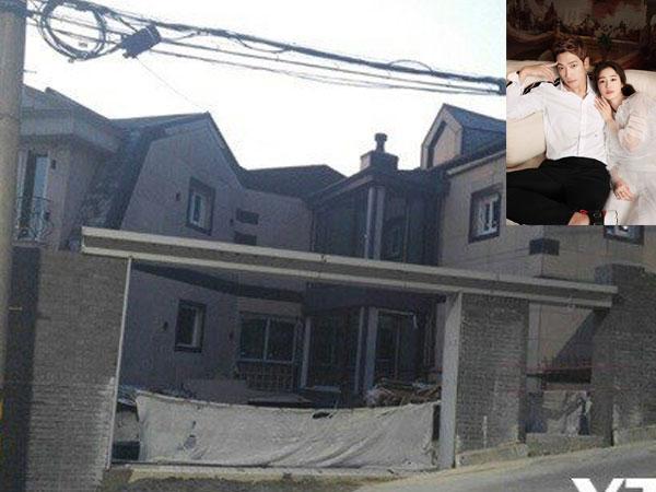 Rain gấp rút sửa nhà trước khi bà xã Kim Tae Hee