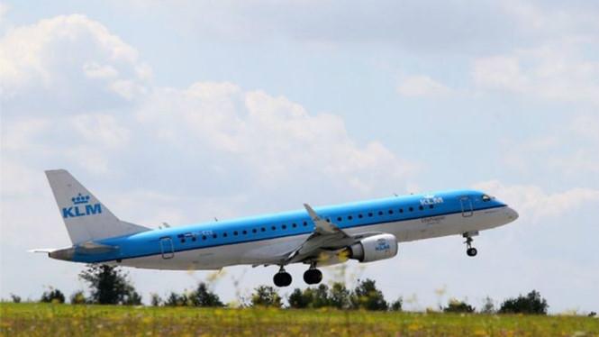Một máy bay của hãng KLM Royal Dutch Airlines /// AFP