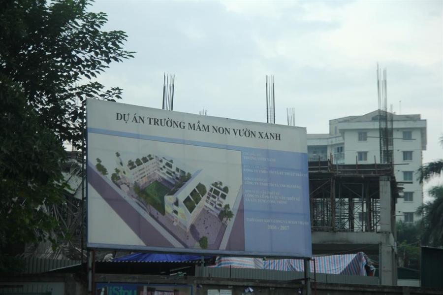 Dự án khởi công từ năm 2016.