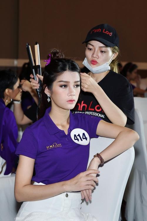 Mâu Thủy là 1 trong 10 thí sinh tiếp theo lọt vào Bán kết Hoa hậu Hoàn vũ Việt Nam - Ảnh 11.