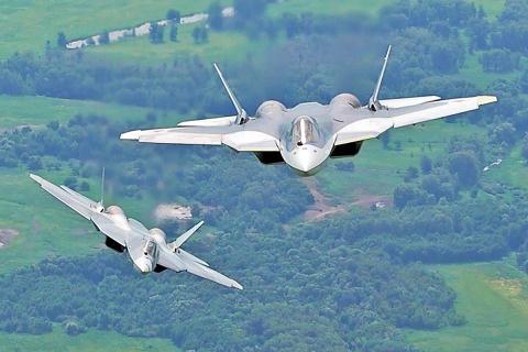 My mat phuong huong truoc tac chien dien tucua Su-57