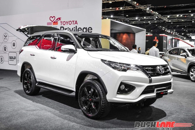 Toyota Fortuner ban the thao gia tuong duong 1 ty dong tai An Do hinh anh 1