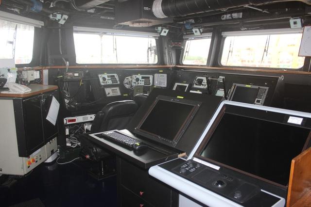 Tàu hộ vệ INS Satpura có thể mang theo các trực thăng. Con tàu này được coi là niềm tự hào của hải quân Ấn Độ.