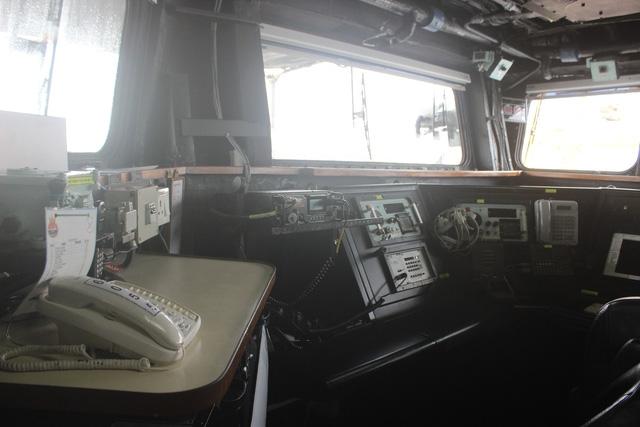 Toàn bộ các thiết bị trên buồng điều khiển của tàu INS Satpura đều được sản xuất tại Ấn Độ.