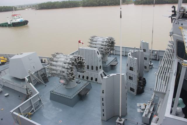 Tàu INS Kadmatt biên chế vào Hải quân Ấn Độ từ năm 2016 và được tích hợp nhiều công nghệ của tàu chiến hiện đại như hệ thống radar, cảm biến, rocket…